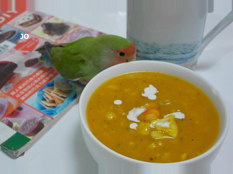 海鮮南瓜濃湯