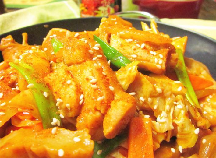 韓式辣炒雞排