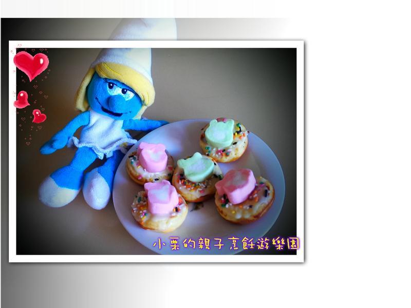 棉花糖甜甜圈