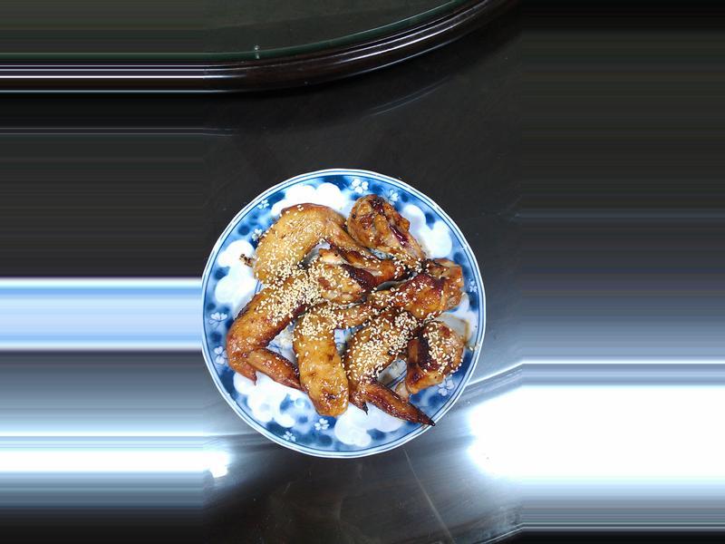 炸三節翅&金針菇