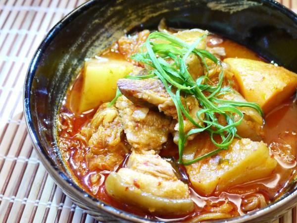 韓式泡菜燉豬肉