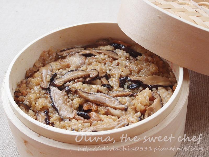 Olivia♥香菇米糕[落建養髮料理]