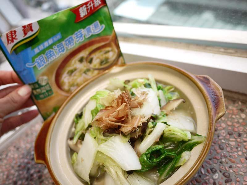 【康寶_就是醬美味】銀魚燴白菜