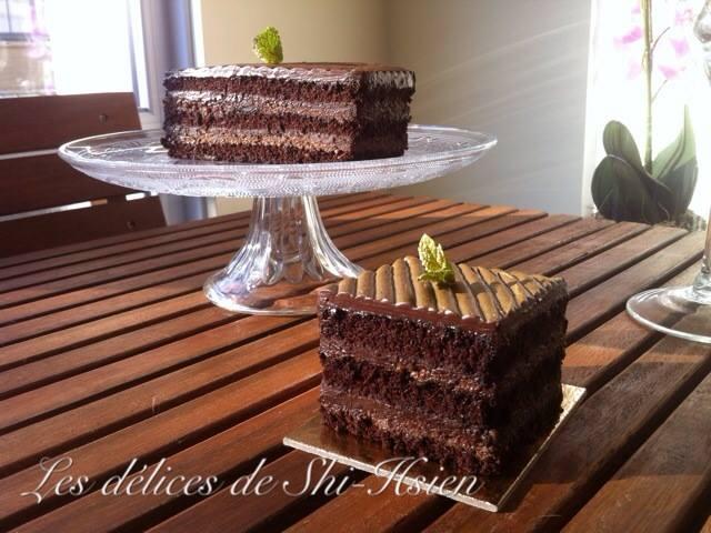 榛果巧克力蛋糕 by 斯賢