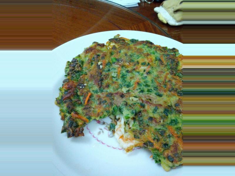 海鮮蔬菜煎餅
