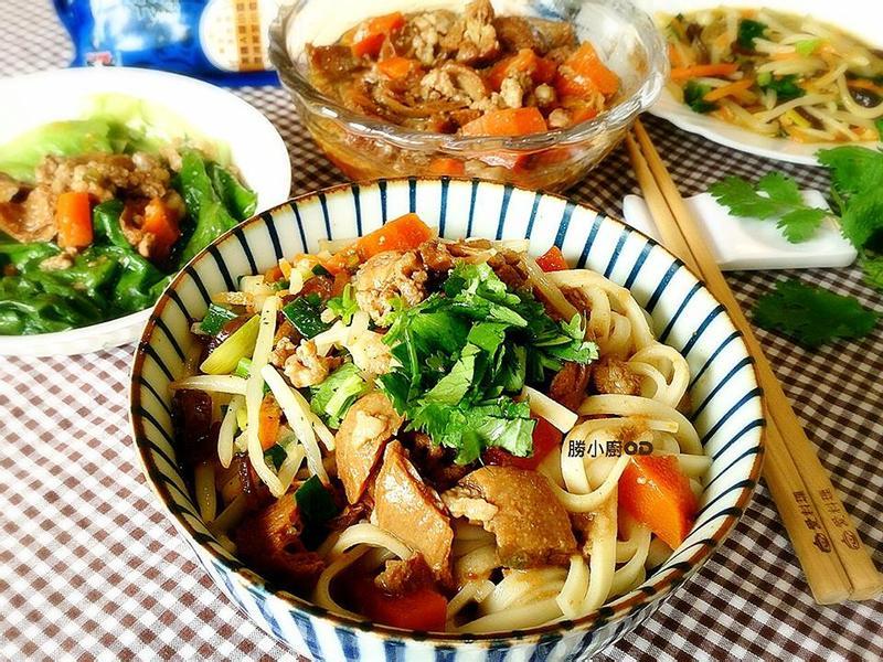 胡麻香豆輪紹子拌麵『五木麵條』