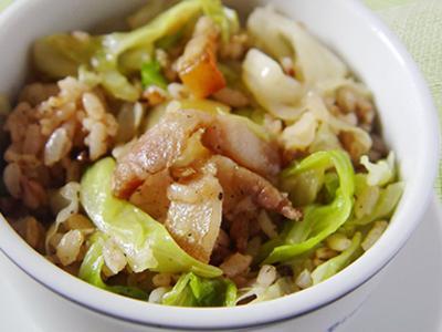 【厚生廚房】五香鹹豬肉炒飯