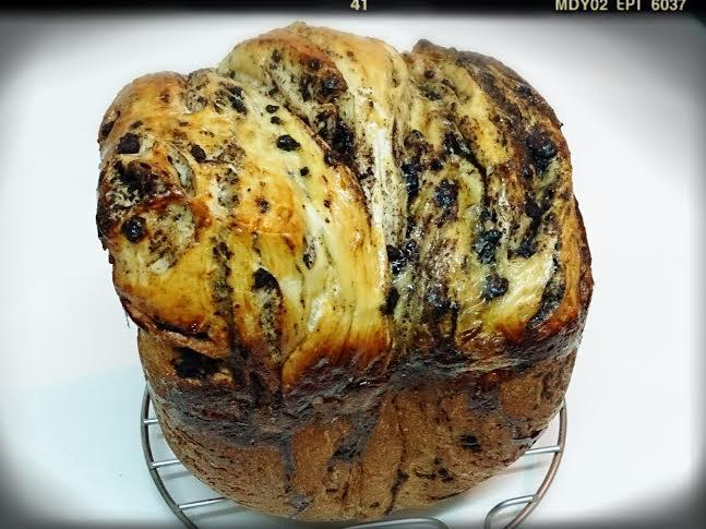 OREO餅乾鳳梨蘋果醬吐司(麵包機)