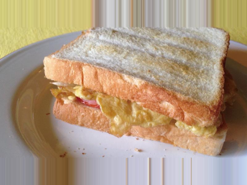 [綠藤芽食譜] 有機芽菜烤吐司