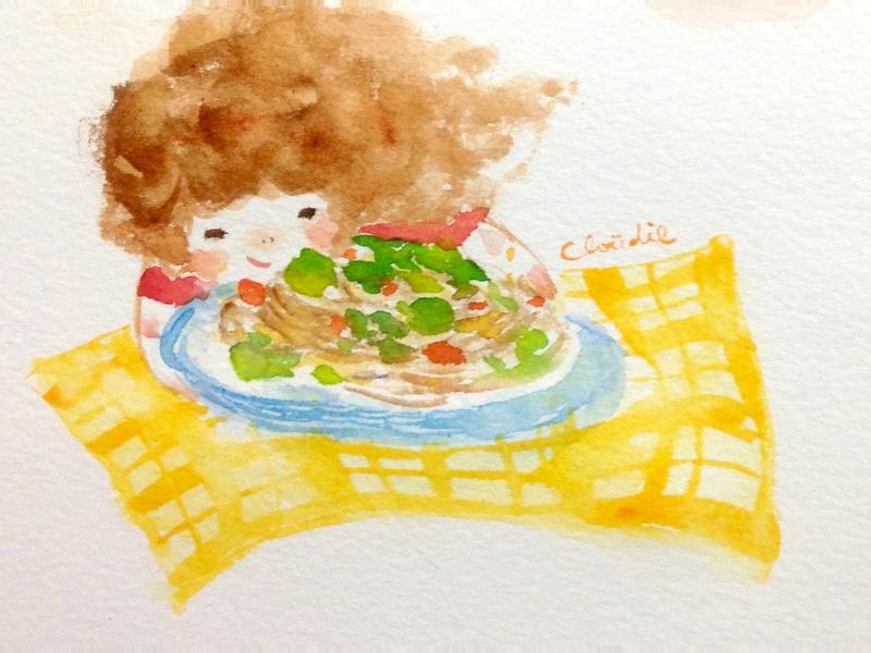 蒜香義大利麵