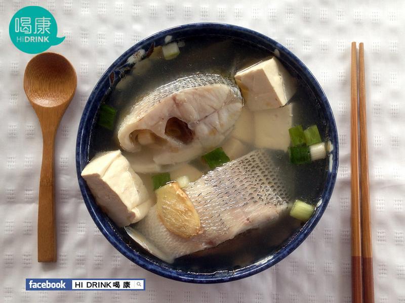 鱸魚豆腐湯