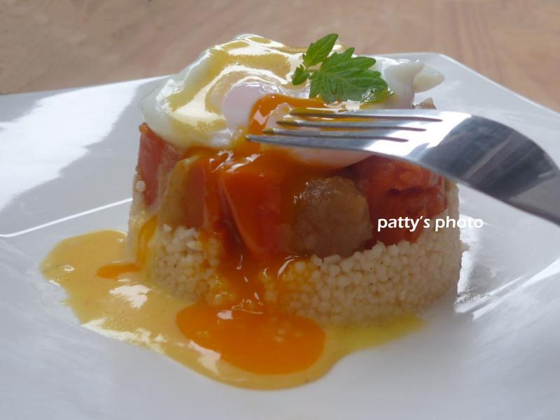 水波蛋庫斯庫斯燉菜『家樂福廚神大賽』