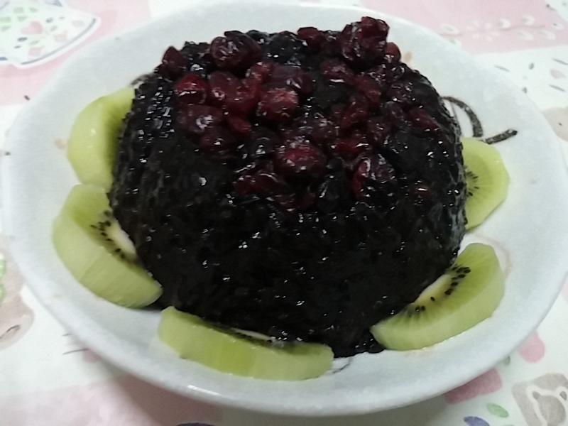 金門高粱飄香料理~紫米糕