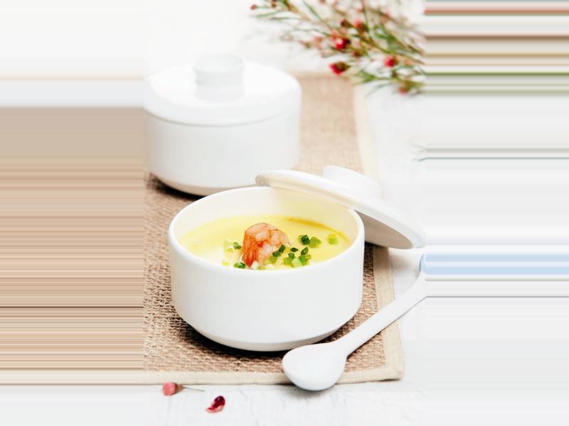 《九陽上菜》豆漿蝦仁蒸蛋