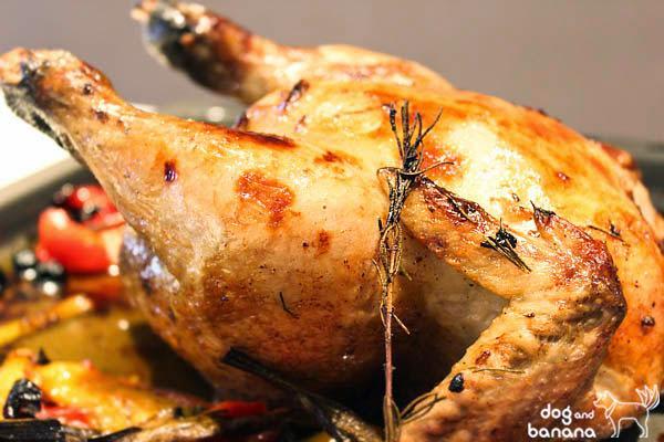 繽紛義式烤全雞