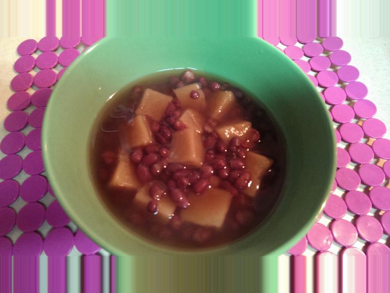 紅豆年糕湯