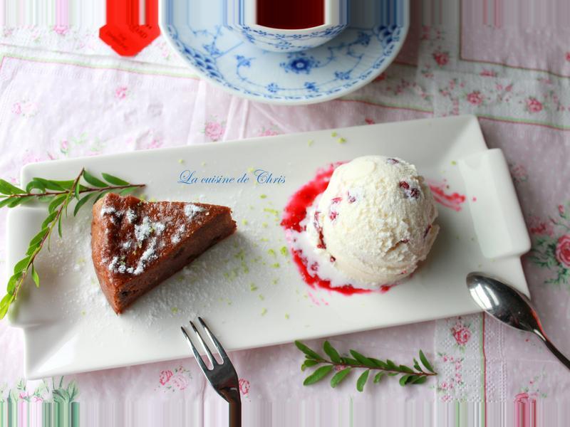蔓越莓香草冰淇淋(免蛋黃)
