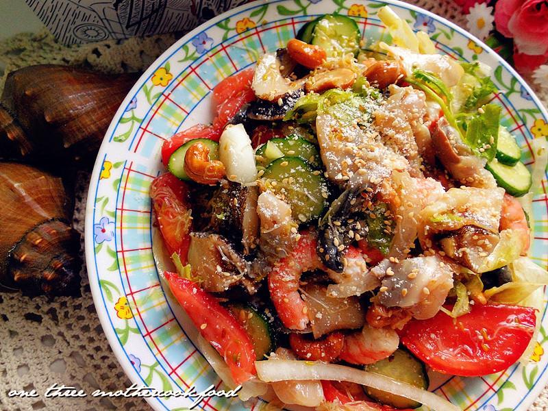 香螺鮮蝦沙拉