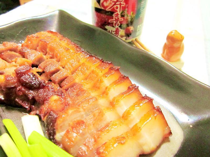 蜜汁燒烤豬五花【穀盛壽喜燒】
