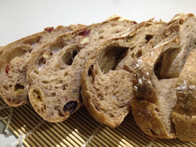 歐式果乾核桃大圓麵包『Panasonic製麵包機』