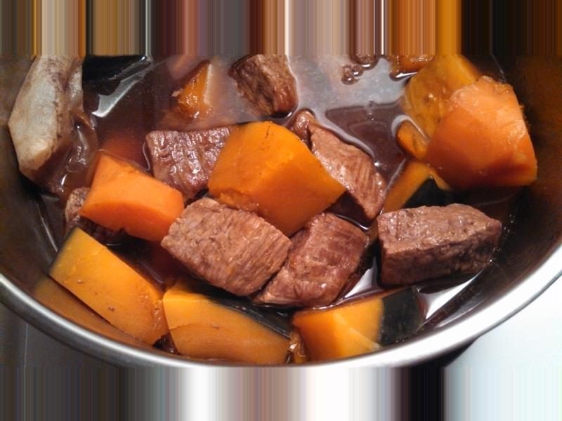 米酒燉牛肉 (電鍋料理)