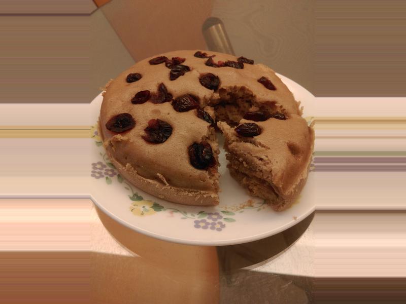 蔓越莓黑糖糕(無油版)