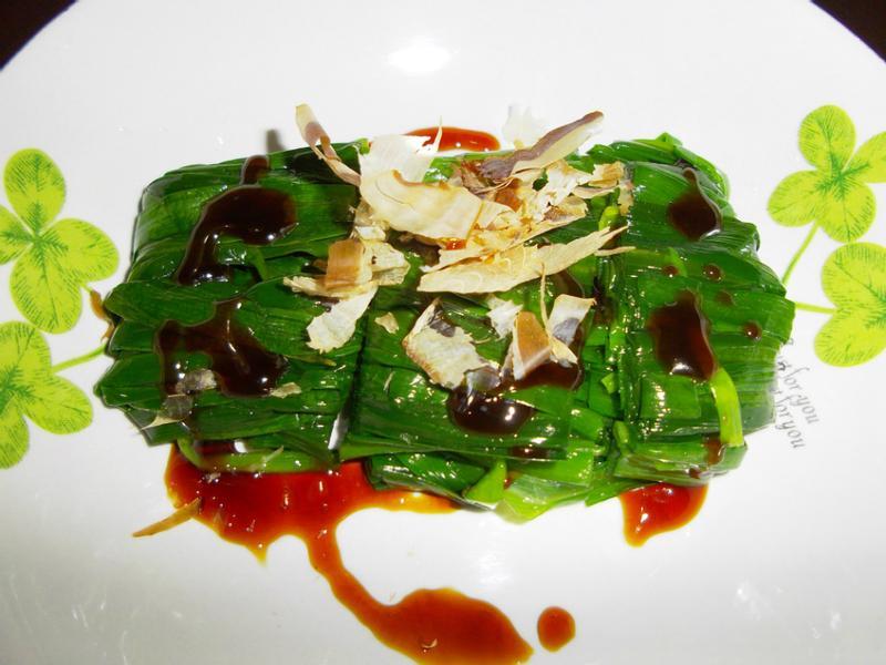 冰鎮韭菜卷
