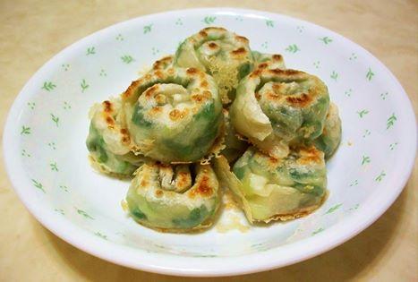蝸牛蔥油餅