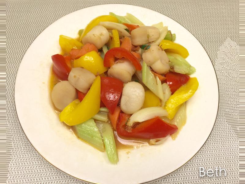 干貝醬炒干貝