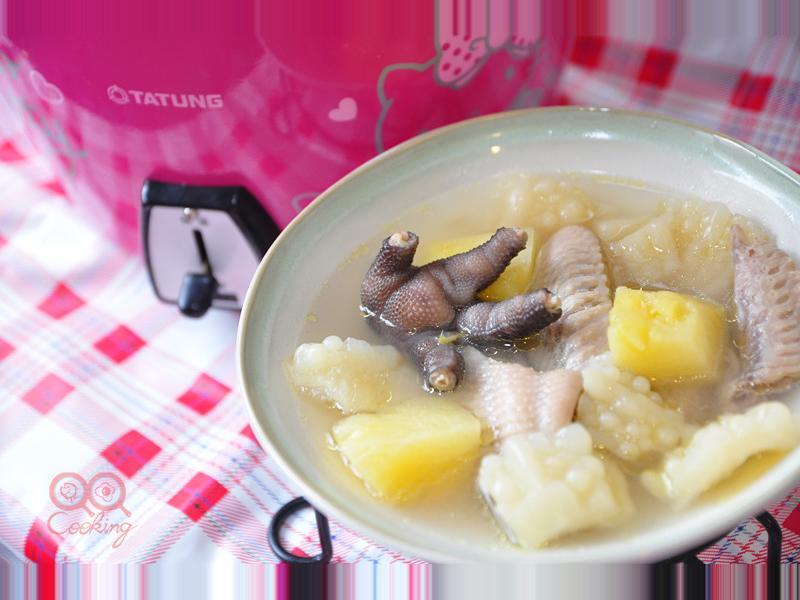 【我與大同電鍋的美味】鳳梨苦瓜燉雞