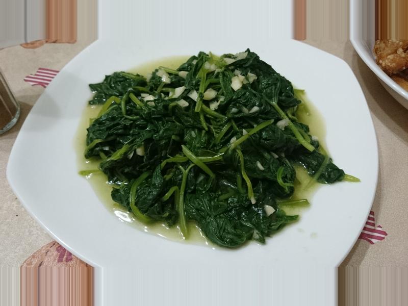[綠色蔬菜]蒜香地瓜葉