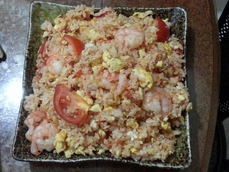 蕃茄蝦仁蛋炒飯