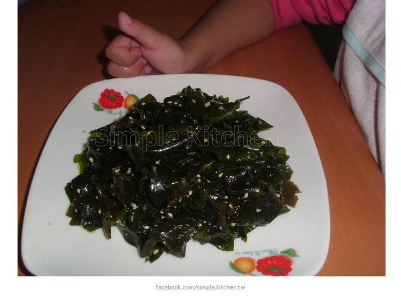 10分鐘做小菜:涼拌海帶芽