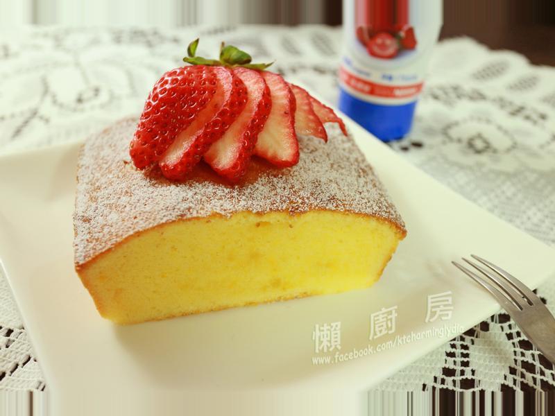 輕蛋糕【草莓就愛鷹牌煉奶】