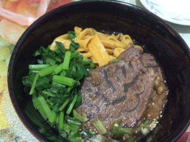 紅蘿蔔麵(紅燒牛肉)