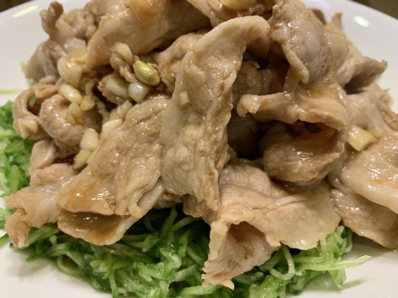 蒜泥白肉(清爽版)