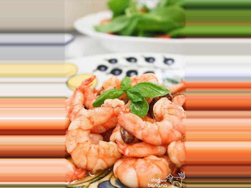 西班牙橄欖油蒜味蝦