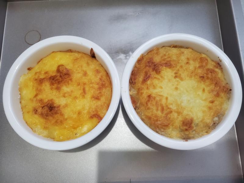 鮪魚洋蔥/蝦仁焗烤馬鈴薯