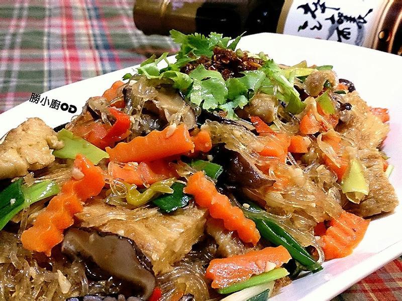 豆包炒冬粉『淬釀中式下午茶點』