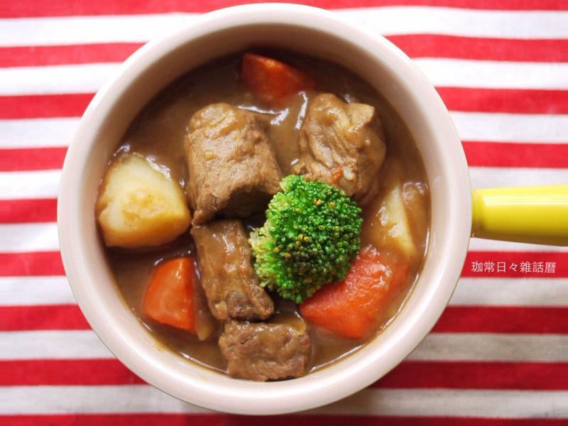 日式咖哩牛腩&肉質軟嫩秘訣
