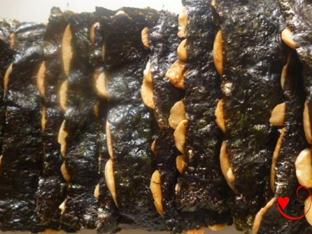 海苔杏仁脆片(可素食)