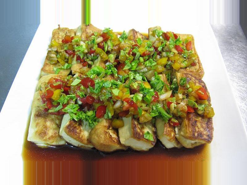 ▊涼拌煎豆腐 ▊