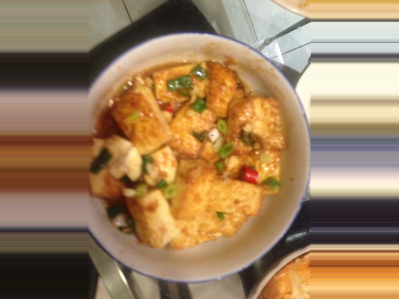 紅燒嫩豆腐