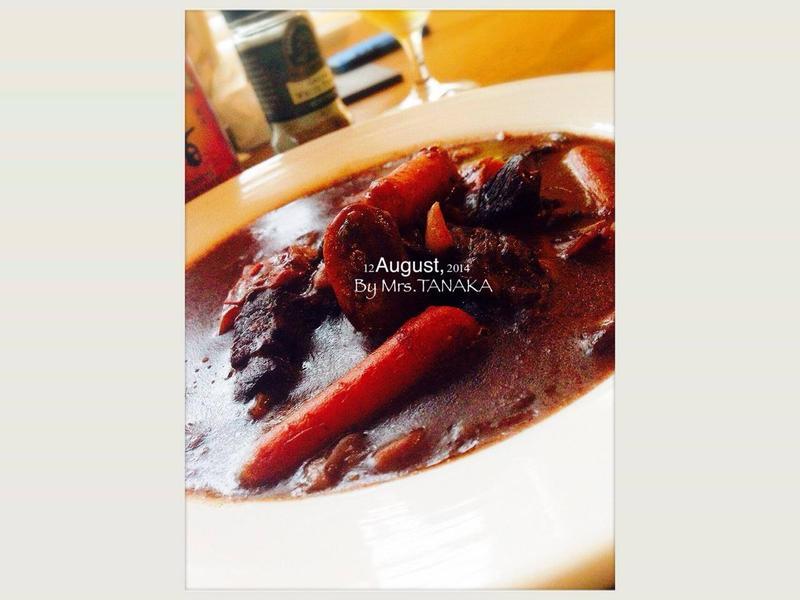 紅酒燉牛肉.Mrs TNK
