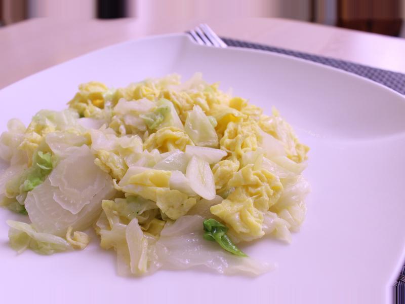 大白菜炒蛋