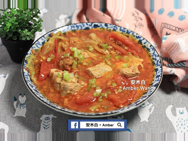 蕃茄肉醬排骨湯(影片)