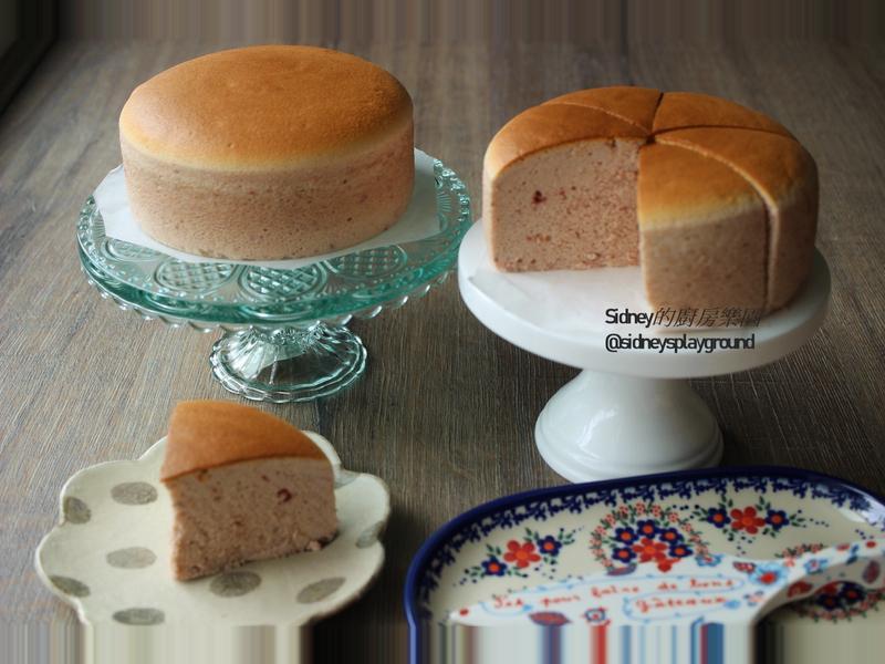 覆盆子輕乳酪蛋糕