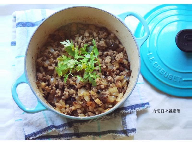 香菇瓜仔肉燥❤少油少調味