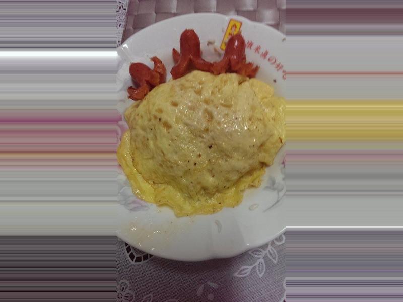海鮮起司蛋包飯『家樂福廚神大賽』