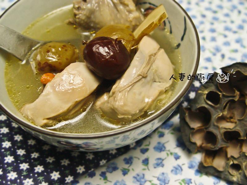 紫蘇梅雞湯